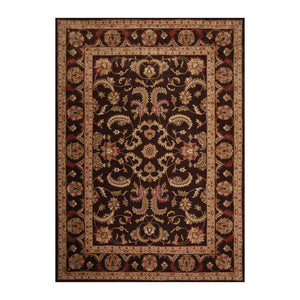 9' 6''x13' 6'' Chocolate Tan Red Color Hand Tufted Hand Made 100% Wool Traditional Oriental Rug