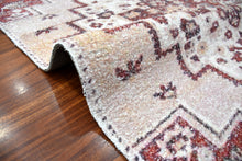 Hand Woven Micro Printed Polyester Traditional  Oriental Area Rug