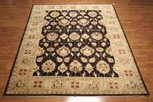 9' x 12' Hand Knotted 100% wool Turkish Oushak Area rug Vegetable Dyes 9x12