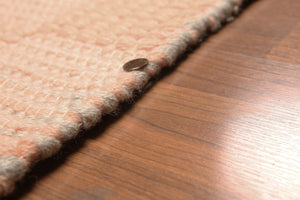 4' x 6' Handmade 100% wool Braided Area rug 100% wool 4x6