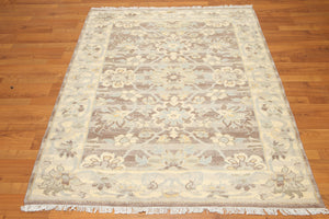 4' x 6' Hand Knotted Handmade Persian Oriental 100% Wool Area Rug 4X6