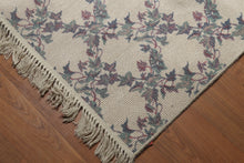 9'x12' Beige, Rose, Green, Multi Color Machine Made Spanish Oriental Wool Rug