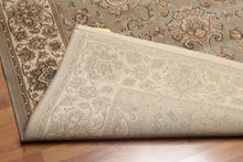 5'x7' Gray, Beige, Brown, Burgundy, Multi Color Machine Made Oriental Polypropylene Rug