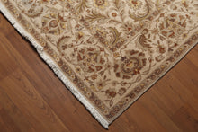 9' x 12' French Aubusson Savonnerie Area Rug 100% New Zealand wool 9x12