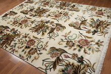 8' x 10' Arts & Crafts Hand knotted handmade Tibetan Area Rug 100% Wool 8x10