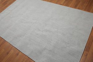 5'x8' Gray Tone on Tone Color Hand Made Modern Wool Rug