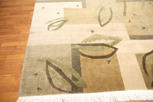 8' x 10' Endless Knots Tibetan Hand Knotted 100% Wool Area Rug Modern 8x10