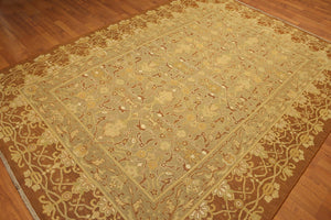 "6'10"" x 9'6"" Nourison Nourmak Hand knotted 100% Wool Persian Oriental Area Rug"