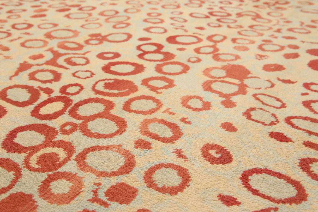 6'x9' Beige, Light Brown, Multi Color Machine Made Persian Karastan Look and Quality Oriental Wool  Rug