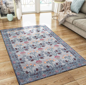 Oriental Rug of Houston Hand Woven Polyester Oriental Area Rug
