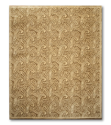 8'x10'   Beige  Gray, Olive Multi Color Hand Knotted Tibetan Rug Wool Traditional Oriental Rug