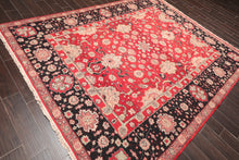 "Oriental Area Rug Hand Knotted 100% Wool Contemporary Reversible Heriz  (7'10""x10')"