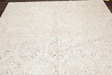 Oriental Area Rug Hand Knotted 100% Bamboo Silk Contemporary  (8'x10')