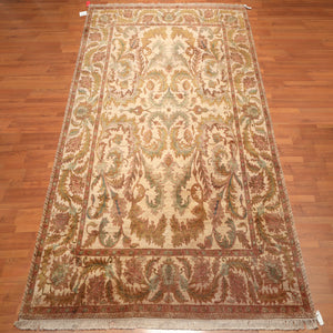 Persian Oriental Area Rug Hand Knotted 100% Wool Traditional Botanical Print (9'x12')