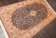 Persian Oriental Area Rug Hand Knotted 100% Silk Traditional Kashan 400 KPSI  (3'x5')