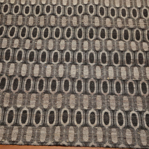 5'1x6'7 Hand Woven Wool  Oriental Area Rug Taupe, Brown Color