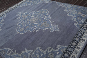 Oriental Area Rug Hand Tufted 100% Wool Transitional  (8'x10')