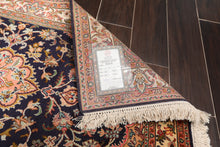 "Persian Oriental Area Rug Hand Knotted 100% Silk Traditional Kashan 400 KPSI  (2'6""x4')"