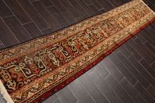 Persian Oriental Area Rug Hand Knotted Wool Traditional Turkish Oushak  (2'x11')