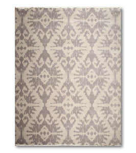 9'x12'   Light Gray  Dark Gray Color Hand Knotted Oriental Rug Wool Traditional Oriental Rug