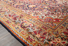 "Persian Oriental Area Rug Hand Knotted 100% Silk Traditional Kashan 400 KPSI (2'7""x4'4"")"
