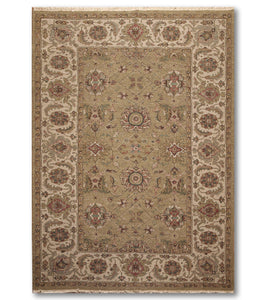 6'x9'   Olive  Beige, Light Green, Rust, Brown, Multi Color Hand Knotted Soumak Rug Wool Traditional Oriental Rug
