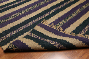 "4'7""x6'7""   Purple  Denim, Tan,Multi Color We have been in rug business for decades, serving customers from all over US and Canada. Your satisfaction is our ultimate goal. Oriental Rug Wool Traditional Oriental Rug"