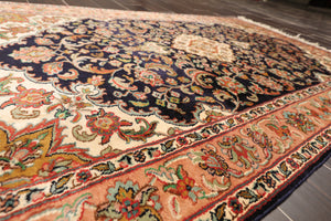 "Persian Oriental Area Rug Hand Knotted 100% Silk Traditional Kashan 400 KPSI  (3'2""x5')"