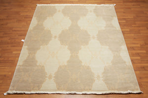 Turkish Weave Hand-Knotted New Zealand Wool Transitional RM10503A (8'x10')