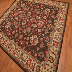 Persian Oriental Area Rug Hand-Tufted 100% Wool  Traditional Persian Oushak (8'x10')