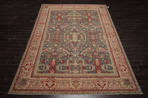 "Oriental Area Rug Hand Knotted 100% Wool Traditional Superfine 200 KPSI (9'9""x13'9"")"