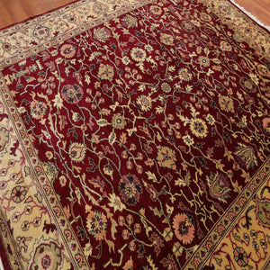"Persian Oriental Area Rug Hand Knotted 100% Wool Traditional  (8'x9'7"")"