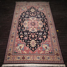 "Persian Oriental Area Rug Hand-Knotted Wool Traditional Palace Size Heriz (12'1""x18'2"")"