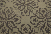 Oriental Area Rug Hand Tufted 100% Wool Transitional Loop n Cut Pile (8'x10')