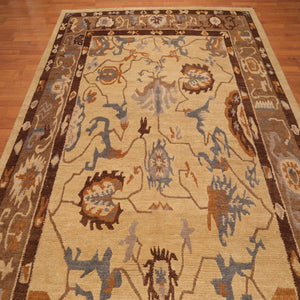 Tibetan Oriental Area Rug Hand Knotted 100% Wool Arts & Crafts Authentic Tufenkian (8'x10')