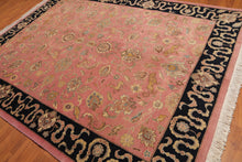 Oriental Area Rug Hand-Knotted 100% Wool  Traditional Persian Romanian Kashan (8'x10')