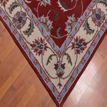 5'x8' Hand Tufted Wool   Oriental Area Rug Rust, Beige Color