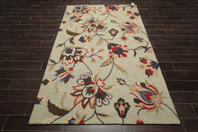 Persian Oriental Area Rug Hand Tufted 100% Wool Transitional Loop Pile (5'x8')