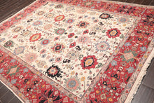 "Oriental Area Rug Hand Knotted 100% Wool Traditional Reversible Nourison Nourmak (7'10""x9'10"")"