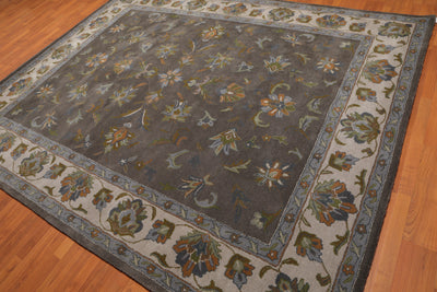 Persian Oriental Area Rug Hand-Tufted 100% Wool  Traditional Persian  (8'x10')