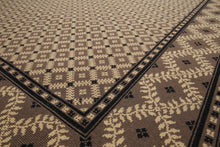 "5'7""x7'11""   Mocha  Beige, Black Color We have been in rug business for decades, serving customers from all over US and Canada. Your satisfaction is our ultimate goal. Oriental Rug Wool Traditional Oriental Rug"