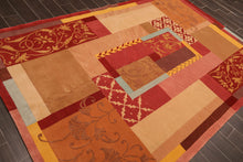 Oriental Area Rug Hand Knotted Wool & Silk Transitional 200 KPSI (6'x9')
