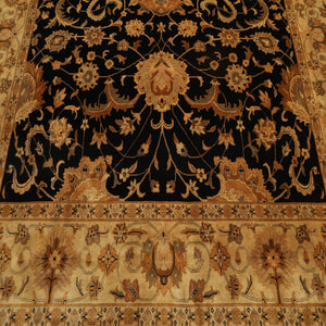 "Persian Oriental Area Rug Hand Knotted 100% Wool Traditional Tea Wash (9'x11'9"")"