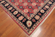 "Oriental Area Rug Hand-Knotted 100% Wool  Traditional Persian Romanian  (4'4""x6'3"")"