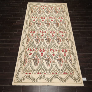 Oriental Area Rug Hand Hooked 100% Wool Traditional Pictorial Novelty Rug (8'x11')