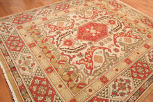 Persian Oriental Area Rug Hand Knotted Wool Traditional Authentic Turkish Oushak (8'x10')