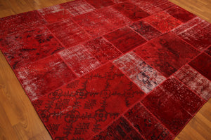 Oriental Rug Hand Knotted Wool   (8'x10' )