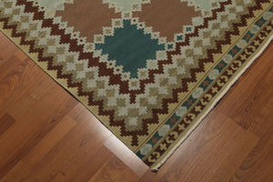 "Kilim Rug Hand Knotted Wool   (5'5""x7'4"" )"