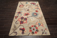 Persian Oriental Area Rug Hand Tufted 100% Wool Traditional Loop Pile (5'x8')