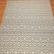5'1x6'4 Hand Woven Polypropylene  Oriental Area Rug Beige, Brown Color
